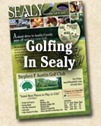 Golfing Sealy