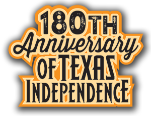 180th Anniversary of Texas Independence