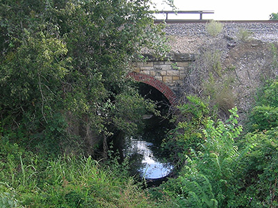 Train Arched Bridge